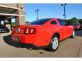2011 Race Red Ford Mustang V6 Coupe  photo #9