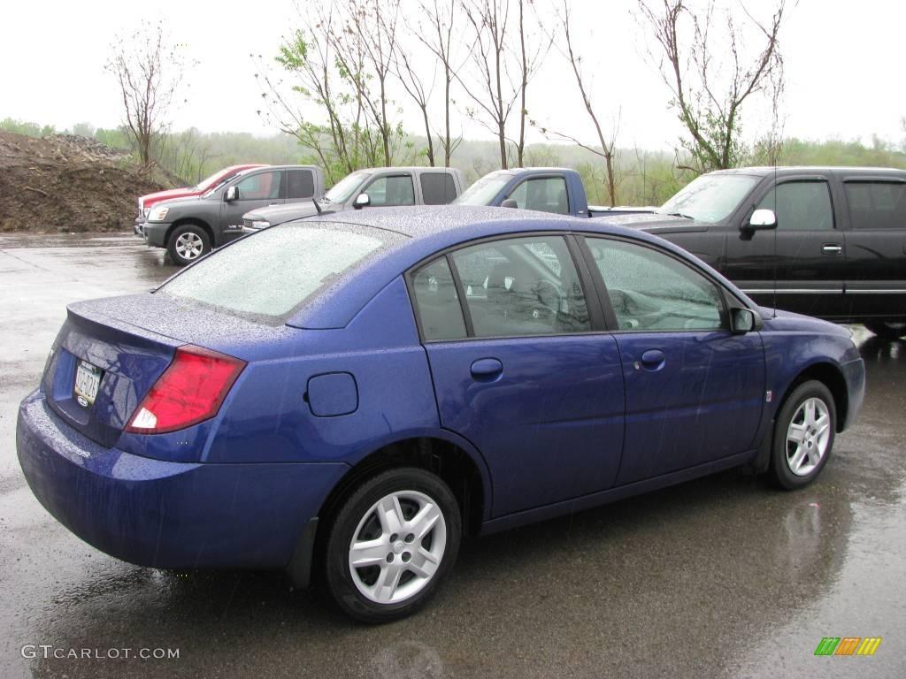 2006 Laser Blue Saturn ION 2 Sedan #8652558 Photo #4 ...  Saturn Ion 2006 Blue