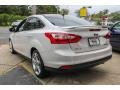 2012 White Platinum Tricoat Metallic Ford Focus Titanium Sedan  photo #3