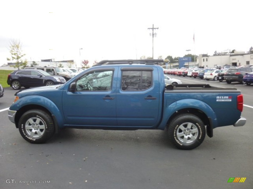 electric blue metallic 2005 nissan frontier nismo crew cab. Black Bedroom Furniture Sets. Home Design Ideas