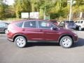 2014 Basque Red Pearl II Honda CR-V EX AWD  photo #2