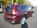 2014 Basque Red Pearl II Honda CR-V EX AWD  photo #3