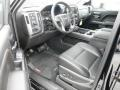 Jet Black Interior Photo for 2014 GMC Sierra 1500 #86869365