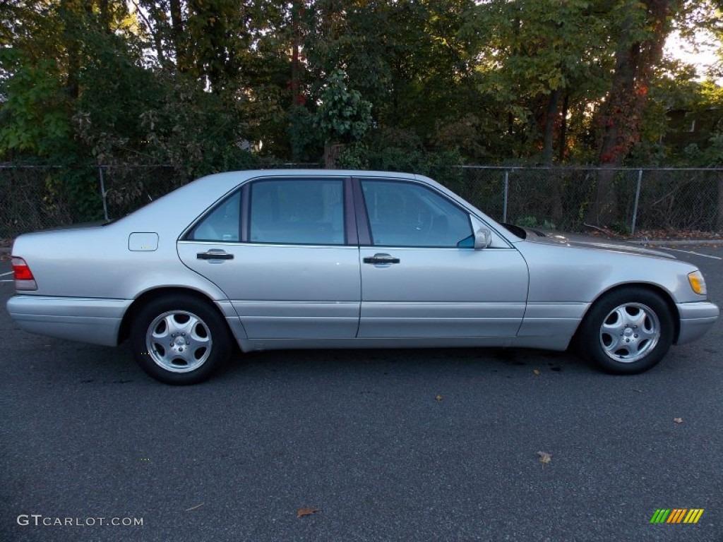 Brilliant silver metallic 1997 mercedes benz s 420 sedan for Mercedes benz s 420