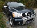 2004 Deep Water Blue/Green Nissan Titan XE King Cab 4x4 #86848748