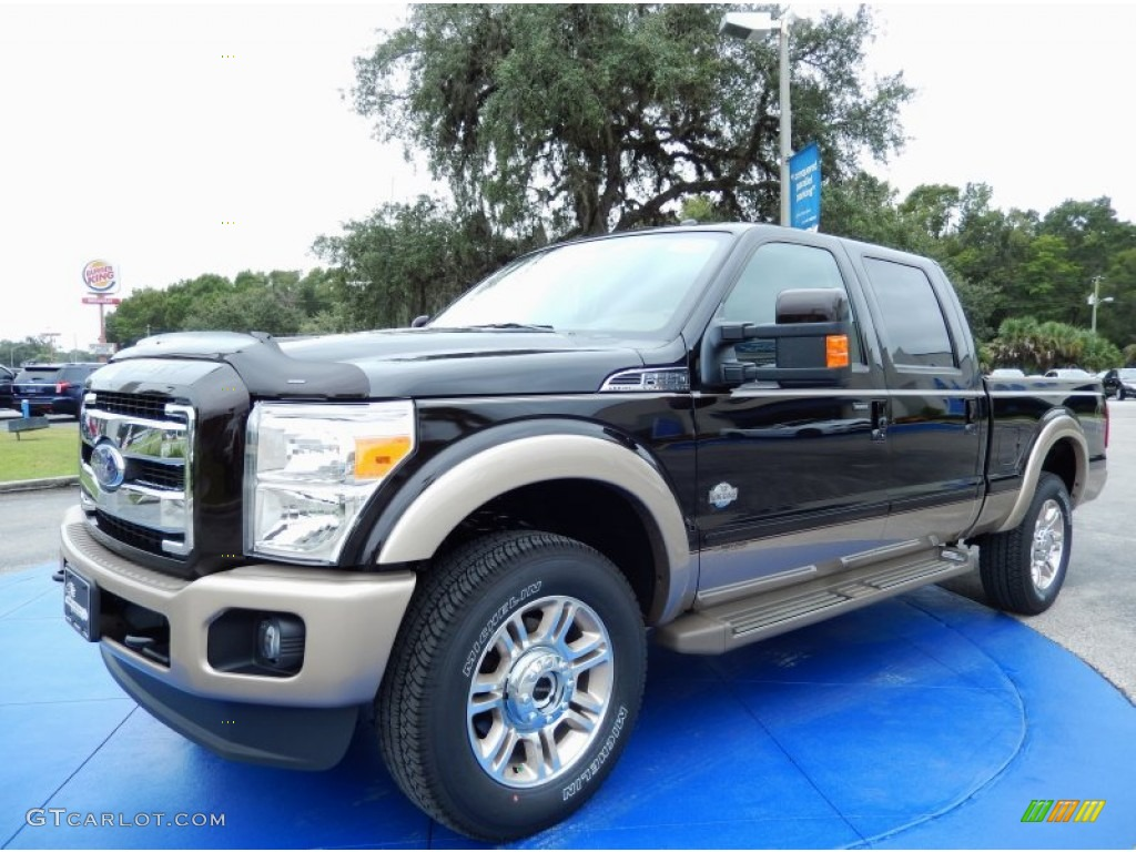 2014 kodiak brown metallic ford f250 super duty king ranch crew cab 4x4 86892181. Black Bedroom Furniture Sets. Home Design Ideas