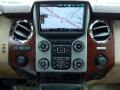 2014 Ford F250 Super Duty King Ranch Chaparral Leather/Adobe Trim Interior Controls Photo