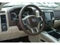 Canyon Brown/Light Frost Beige Dashboard Photo for 2014 Ram 1500 #86922244