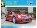 Crystal Red Tintcoat 2010 Cadillac CTS -V Sedan