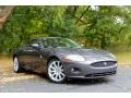 2008 Pearl Grey Metallic Jaguar XK XK8 Coupe #86892548