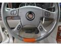 2004 Cadillac Escalade Pewter Gray Interior Steering Wheel Photo