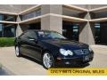 Black 2009 Mercedes-Benz CLK 350 Coupe