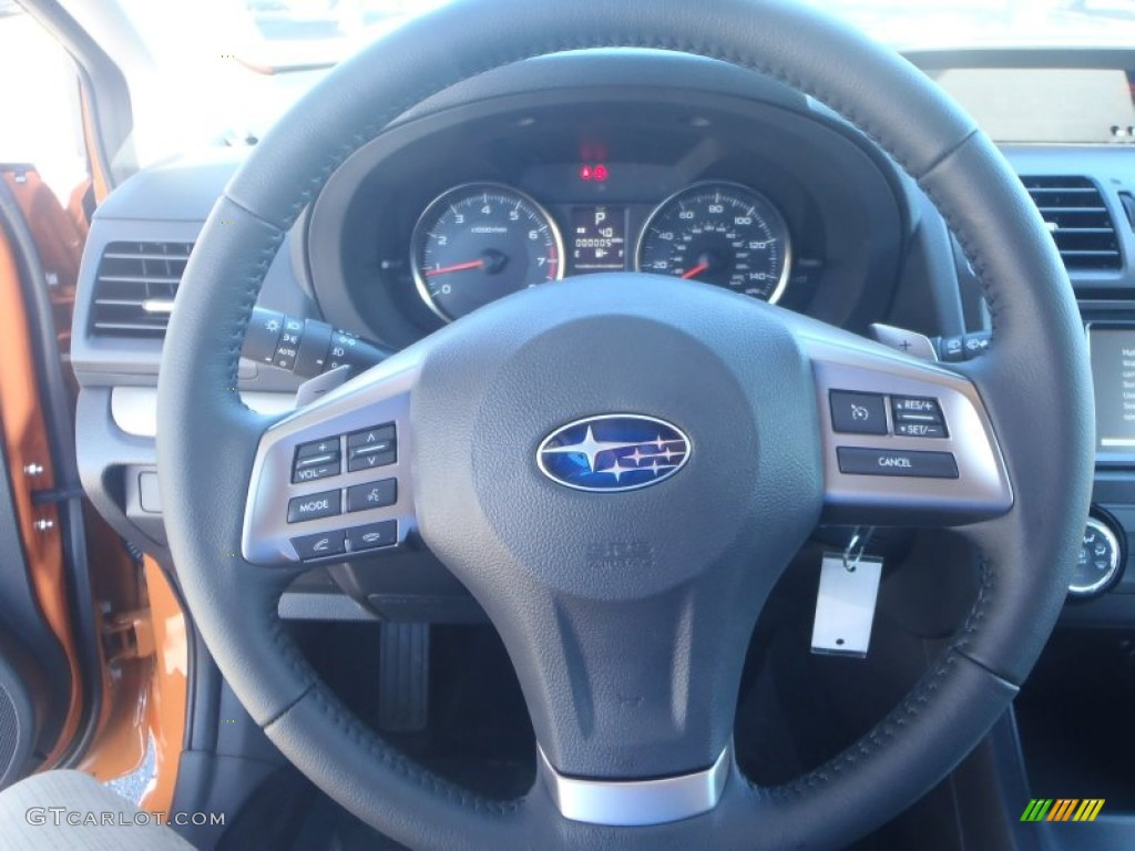 2014 Subaru Xv Crosstrek 2.0I Premium >> 2014 Subaru XV Crosstrek 2.0i Limited Black Steering Wheel ...