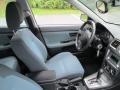 2005 Subaru Impreza Black Interior Front Seat Photo