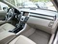 Taupe Dashboard Photo for 2008 Acura RDX #86949325