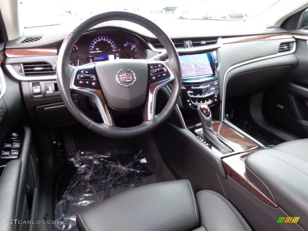 jet black interior 2013 cadillac xts luxury awd photo 86949859. Black Bedroom Furniture Sets. Home Design Ideas