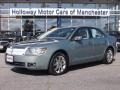 2009 Moss Green Metallic Lincoln MKZ AWD Sedan #86937665