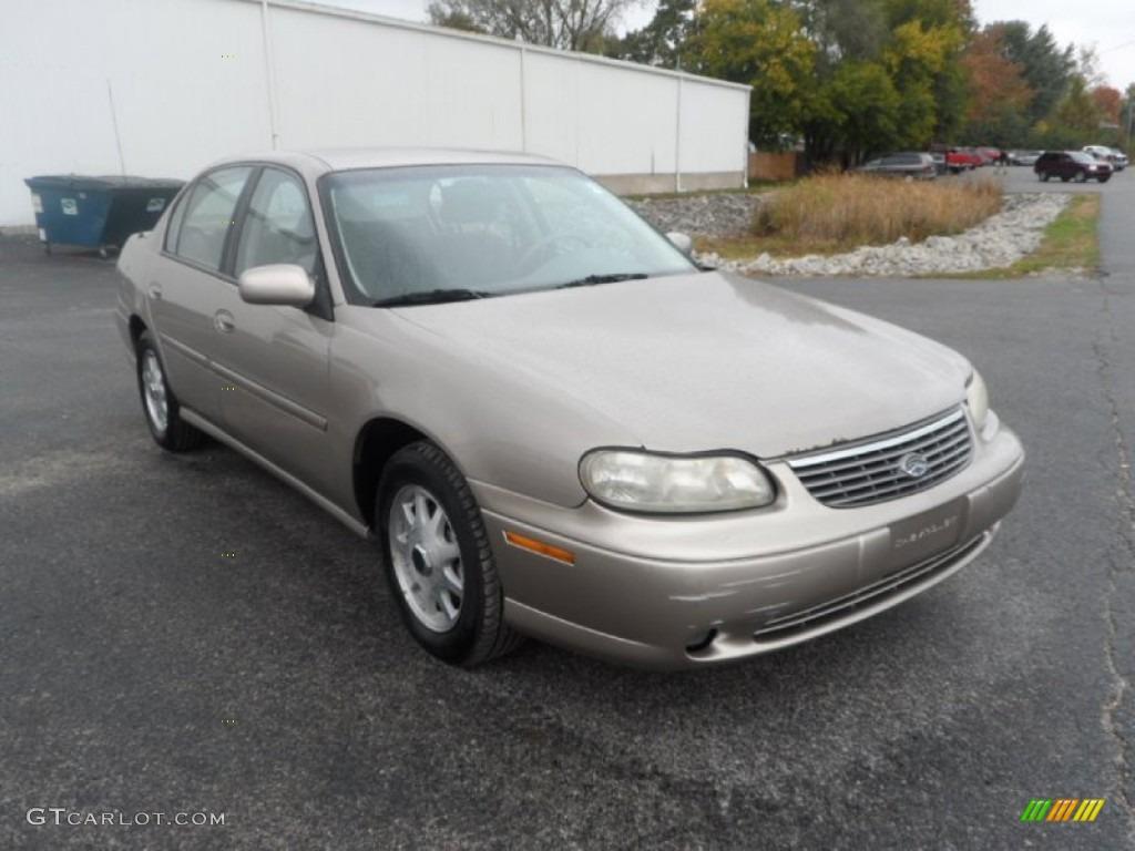 1999 Malibu LS Sedan - Black / Medium Gray photo #1