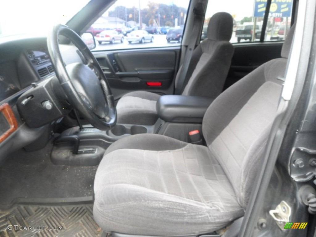 Black Interior 1998 Jeep Grand Cherokee Laredo 4x4 Photo 86960905