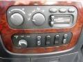 2003 Dodge Ram 3500 Dark Slate Gray Interior Controls Photo