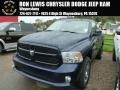 True Blue Pearl Coat 2014 Ram 1500 Express Regular Cab 4x4