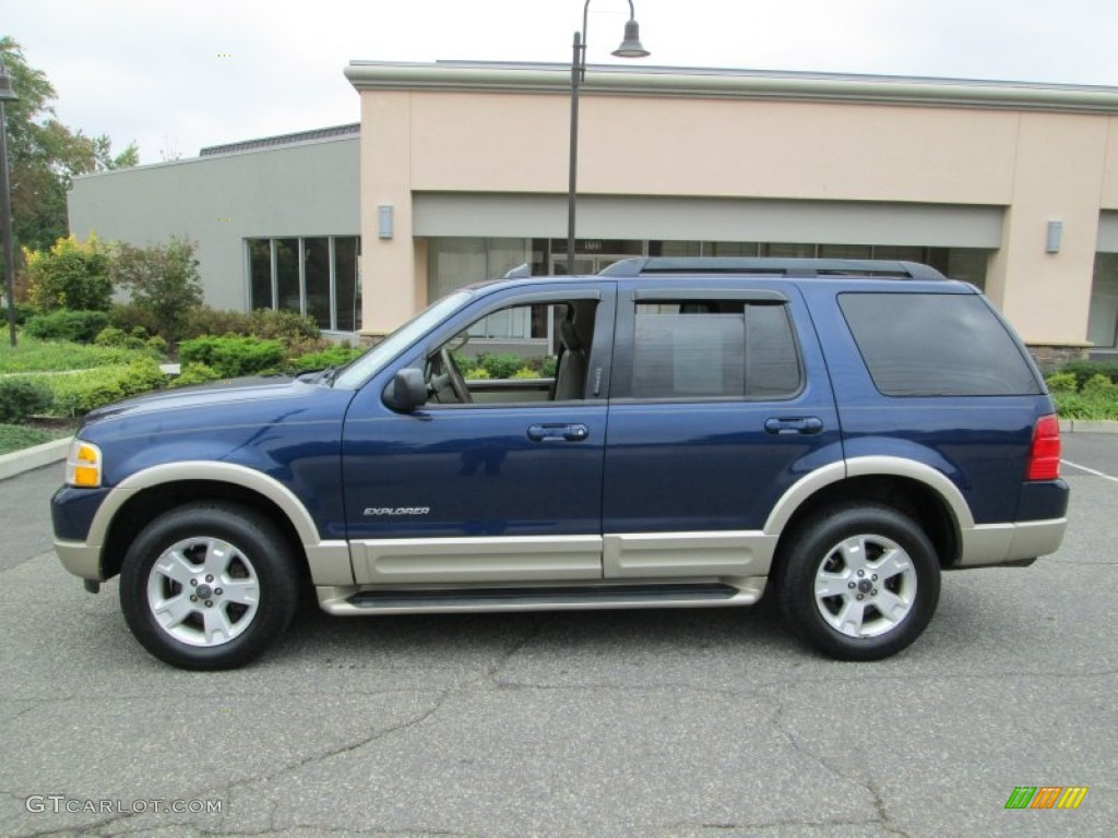 2005 dark blue pearl metallic ford explorer eddie bauer 4x4 86981079 car color. Black Bedroom Furniture Sets. Home Design Ideas