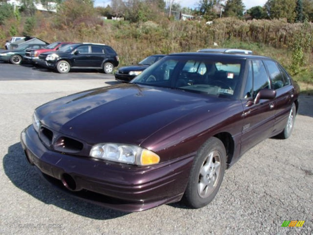 1997 dark cherry metallic pontiac bonneville ssei. Black Bedroom Furniture Sets. Home Design Ideas
