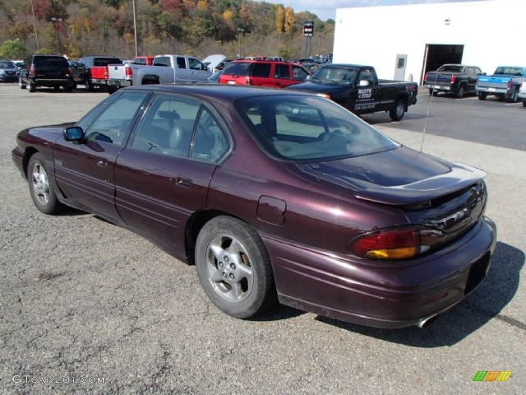 1997 dark cherry metallic pontiac bonneville ssei supercharged 86980783 photo 6 gtcarlot com car color galleries gtcarlot com