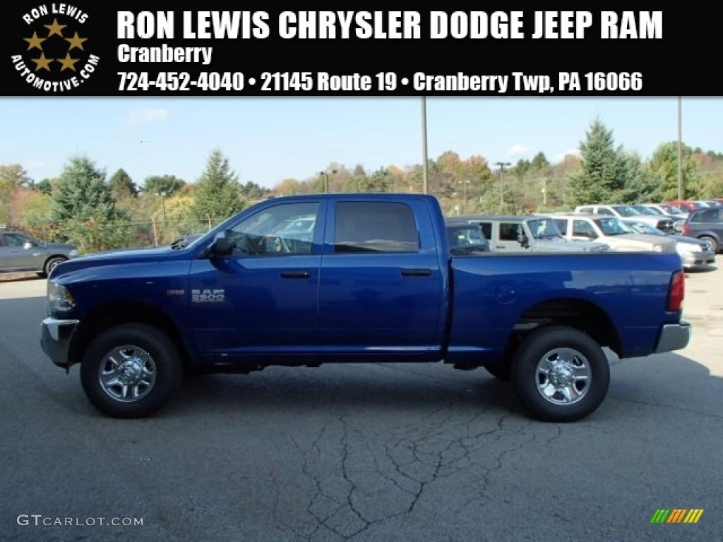 blue streak pearl coat ram 2500 - 2014 Dodge Ram 2500 Tradesman Interior