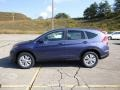 2014 Twilight Blue Metallic Honda CR-V EX AWD  photo #6