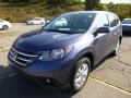 2014 Twilight Blue Metallic Honda CR-V EX AWD  photo #7