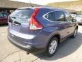 2014 Twilight Blue Metallic Honda CR-V EX-L AWD  photo #3