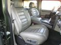 Wheat Front Seat Photo for 2003 Hummer H2 #87024566