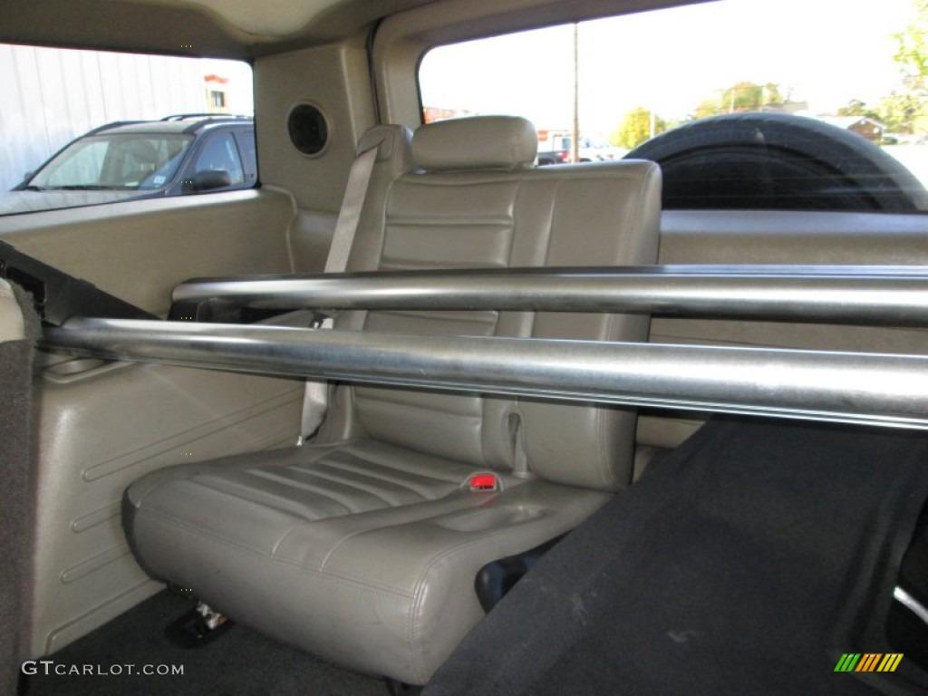 2003 Hummer H2 Suv Rear Seat Photo 87024662