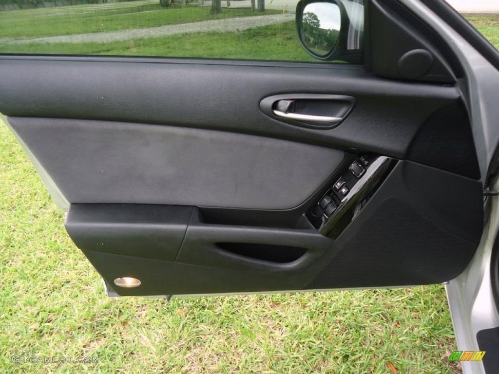 2004 Mazda Rx 8 Sport Black Door Panel Photo 87025501