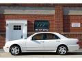 Glacier White 2000 Mercedes-Benz E 430 Sedan