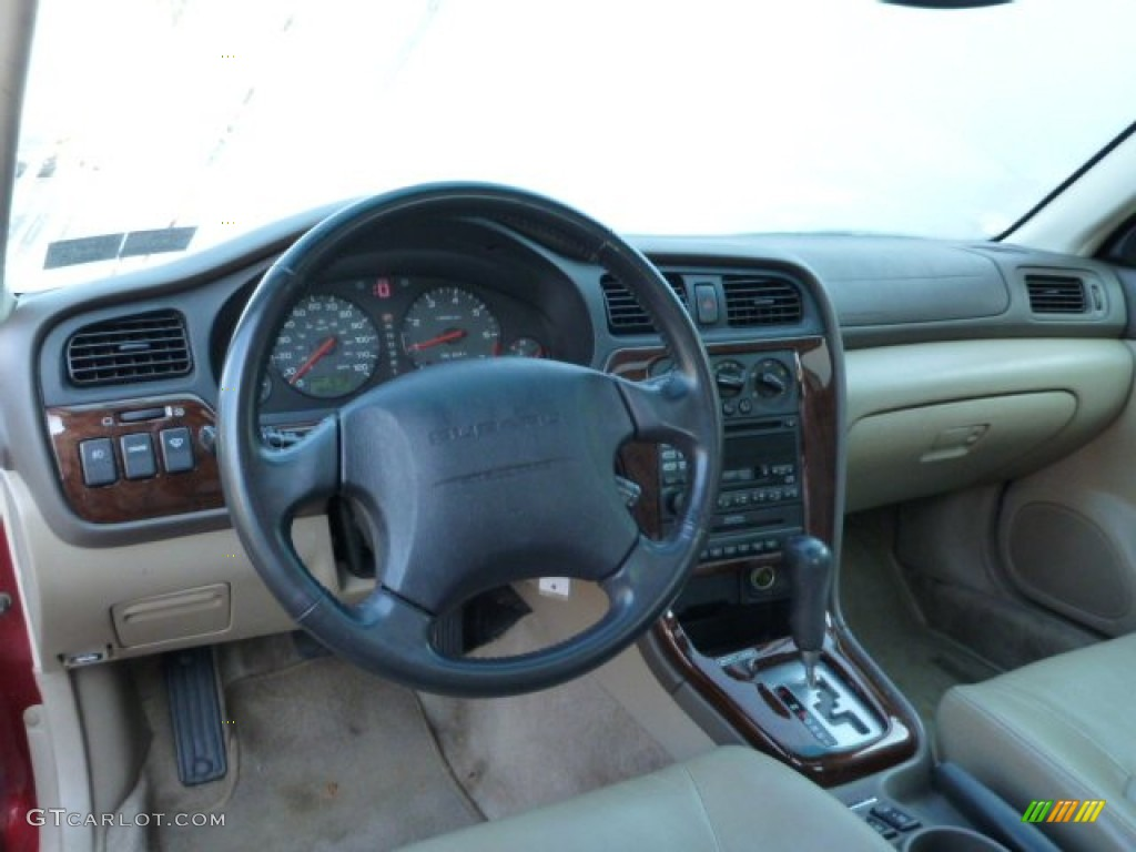 2002 Subaru Legacy Gt Limited Sedan Interior Color Photos