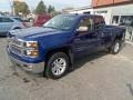 Blue Topaz Metallic - Silverado 1500 LT Double Cab 4x4 Photo No. 7