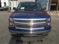 Blue Topaz Metallic - Silverado 1500 LT Double Cab 4x4 Photo No. 8