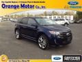Kona Blue Metallic 2011 Ford Edge Sport AWD