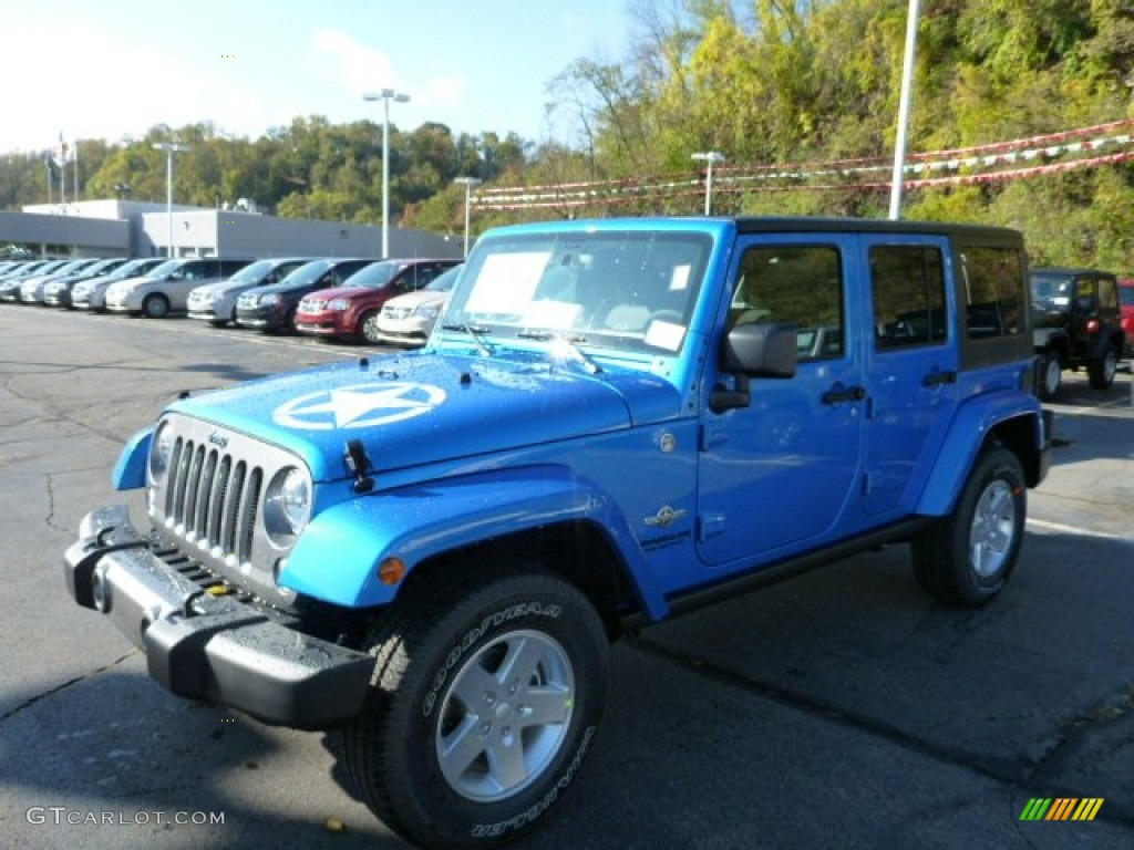 Hydro blue pearl jeep wrangler unlimited