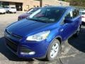 2014 Deep Impact Blue Ford Escape SE 1.6L EcoBoost 4WD  photo #5