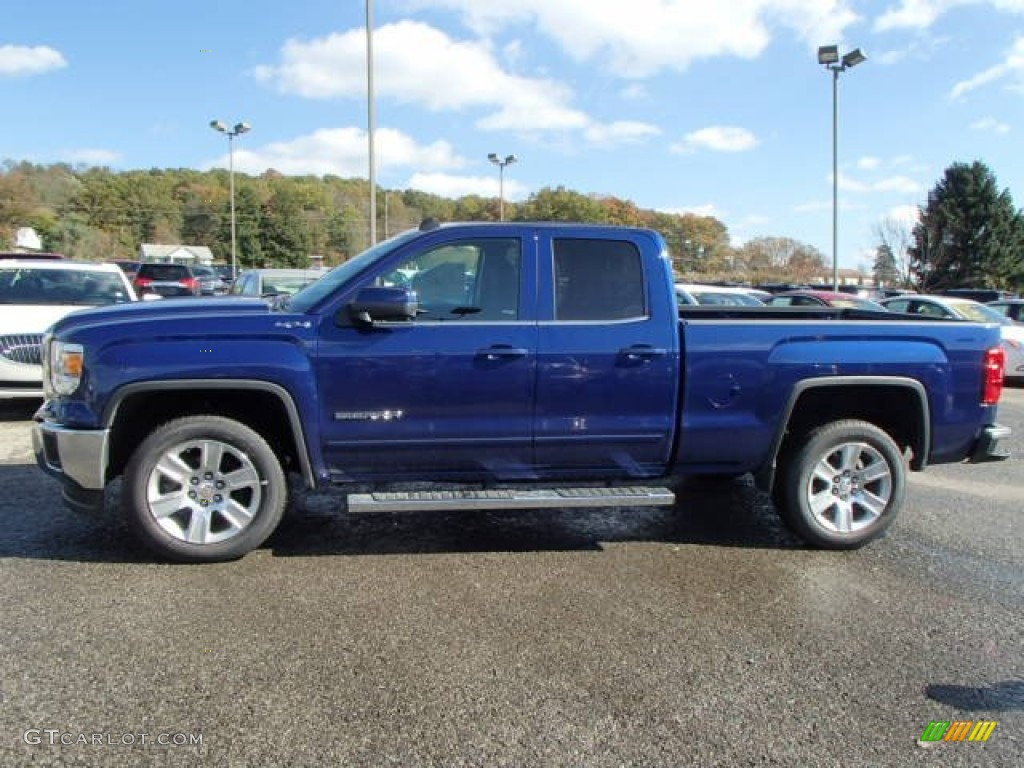 2014 cobalt blue metallic gmc sierra 1500 sle double cab 4x4 87057325 photo 8. Black Bedroom Furniture Sets. Home Design Ideas