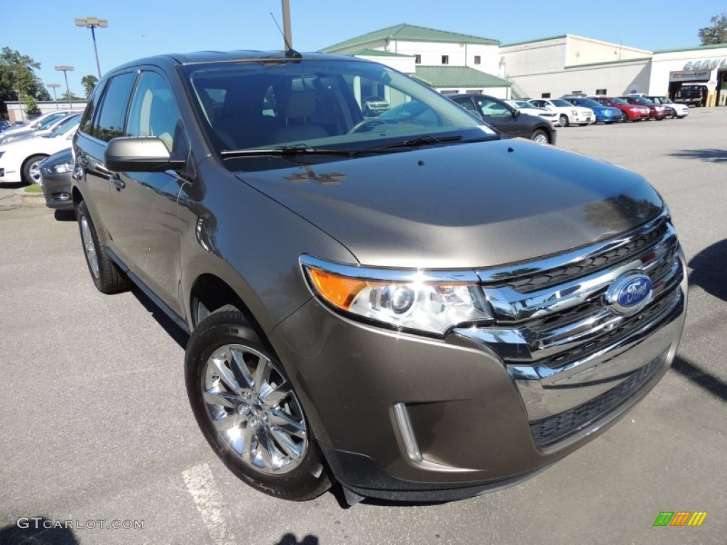 mineral gray metallic 2013 ford edge limited exterior photo 87094602. Black Bedroom Furniture Sets. Home Design Ideas