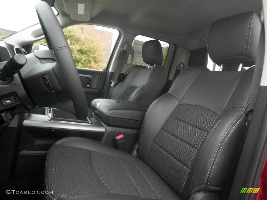 black interior 2014 ram 1500 sport quad cab 4x4 photo 87099873. Black Bedroom Furniture Sets. Home Design Ideas