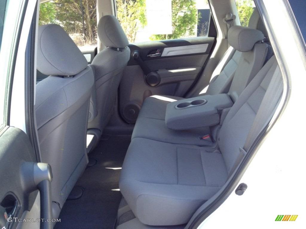 2011 CR-V LX 4WD - Taffeta White / Gray photo #7