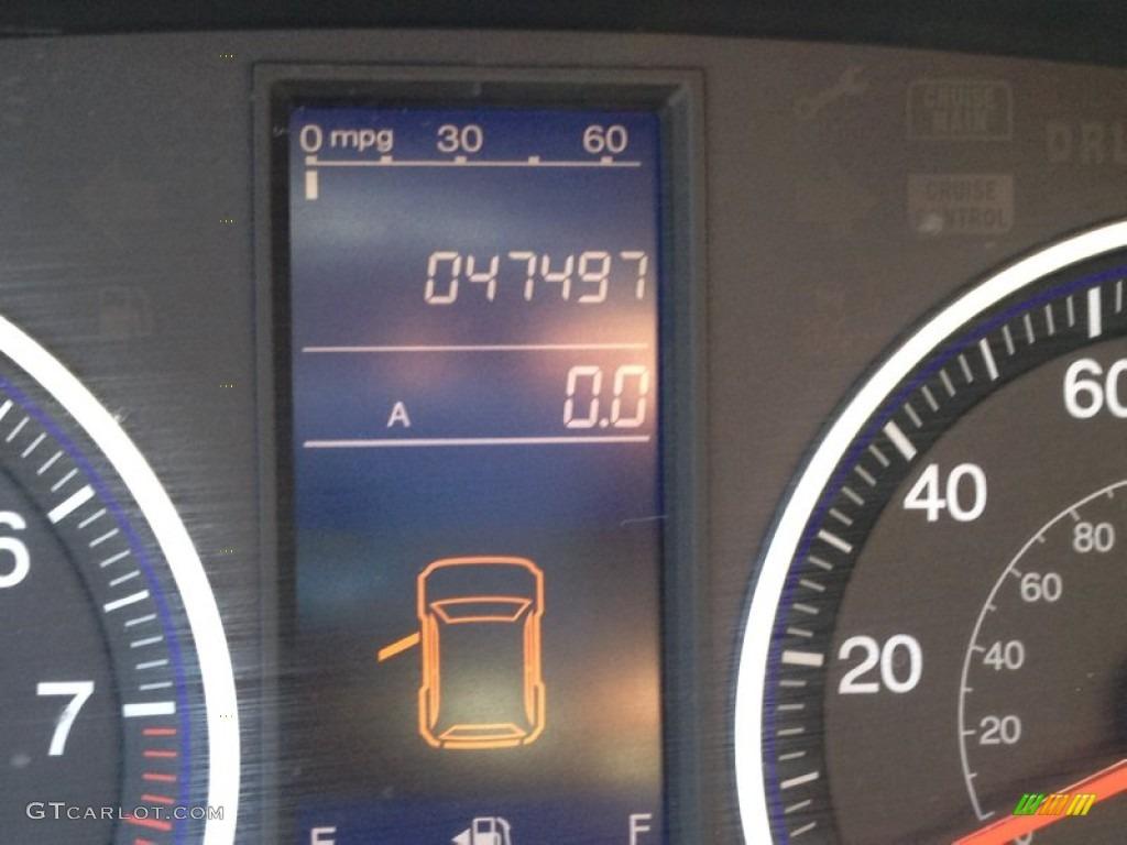 2011 CR-V LX 4WD - Taffeta White / Gray photo #15