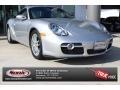2008 Arctic Silver Metallic Porsche Cayman  #87057526