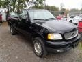 Black 2001 Ford F150 XLT Regular Cab 4x4