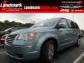 Clearwater Blue Pearl 2010 Chrysler Town & Country Limited